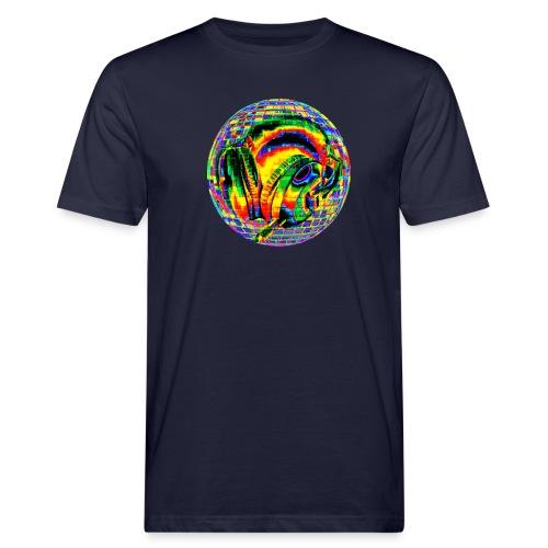 Casque à facettes - T-shirt bio Homme