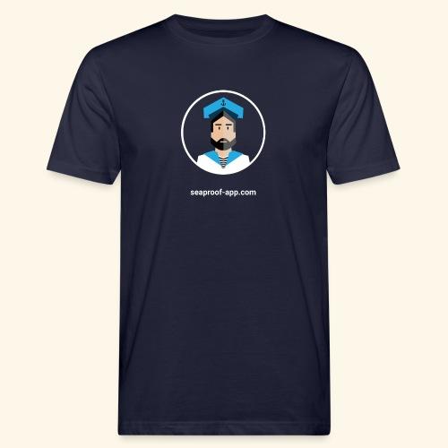 SeaProof App - Männer Bio-T-Shirt