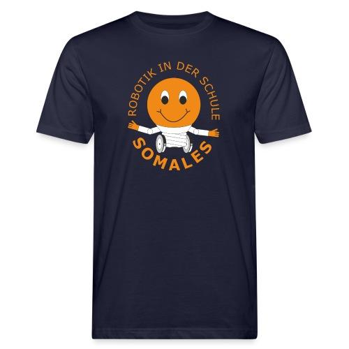 SOMALES - Robotik in der Schule - Männer Bio-T-Shirt