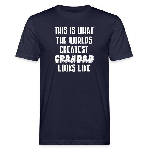 Worlds Greatest Grandad - Men's Organic T-Shirt