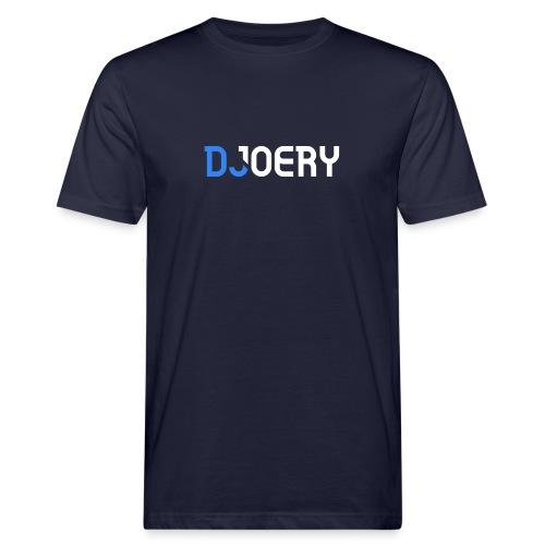 logo transparantbg whitetext noslogan - Mannen Bio-T-shirt