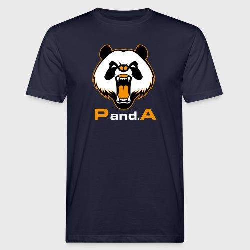 P.and.A ORANGE - Camiseta ecológica hombre