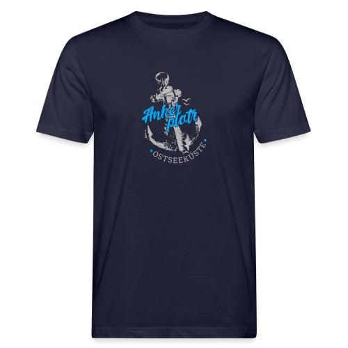 Ankerplatz - Männer Bio-T-Shirt