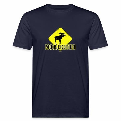Moosketier - Mannen Bio-T-shirt