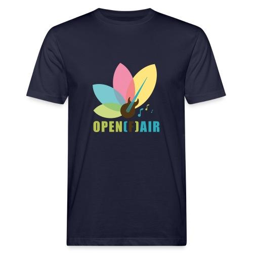 Hochkant Logo - Männer Bio-T-Shirt