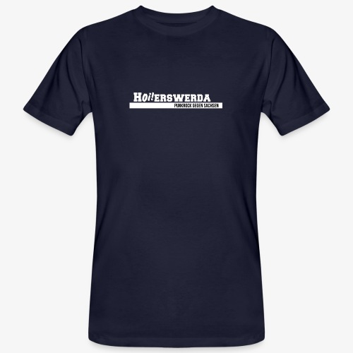 Logo Hoierswerda transparent - Männer Bio-T-Shirt