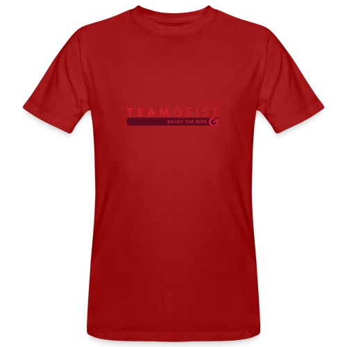Teamgeist - Enjoy The Ride - Männer Bio-T-Shirt