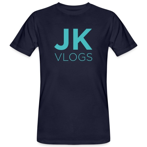 JK Vlogs Logo - Men's Organic T-Shirt