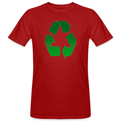 Recyclage - T-shirt bio Homme