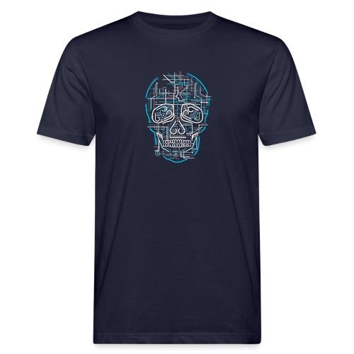 electric skull tshirt ✅ - Männer Bio-T-Shirt