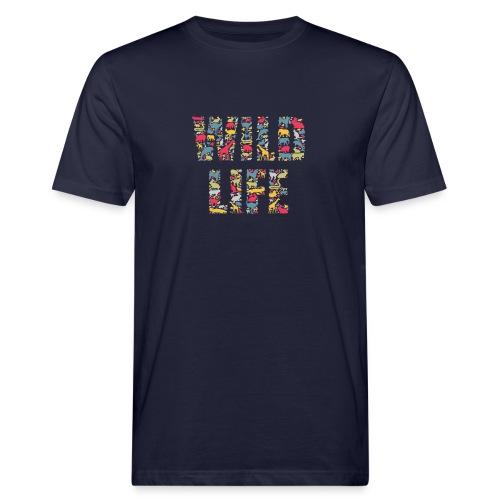 Wild Life - Männer Bio-T-Shirt