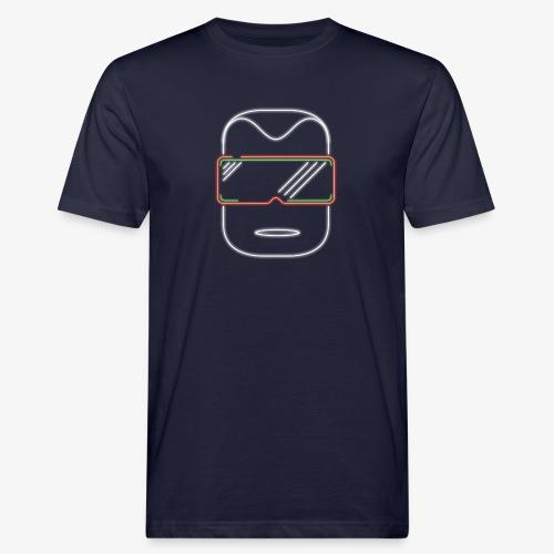 Die Zock Stube - Robot-Head - Männer Bio-T-Shirt
