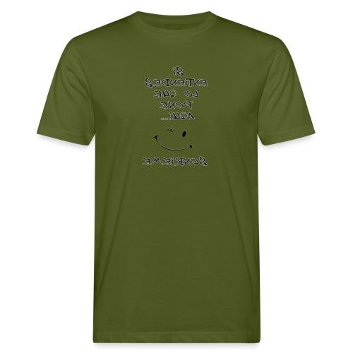 Para el espejo: SI ENTIENDES LO QUE PONE AQUI - Camiseta ecológica hombre