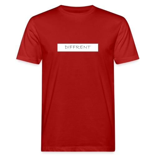 diffrent white logo - Ekologisk T-shirt herr