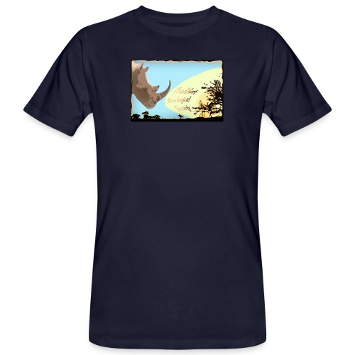 Rhino T-Shirt - Männer Bio-T-Shirt