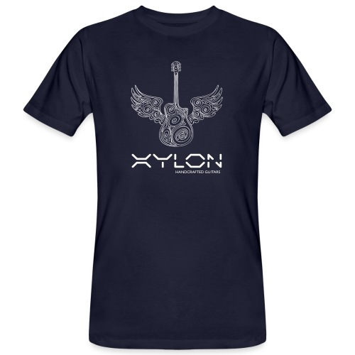 Xylon Guitars Premium T-shirt (white design) - Men's Organic T-Shirt