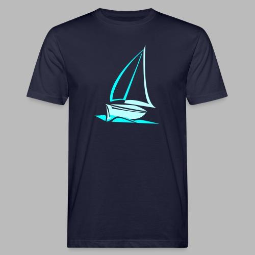 segelyacht - Männer Bio-T-Shirt