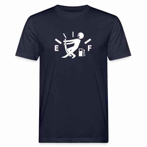 Empty tank - no fuel - fuel gauge - Men's Organic T-Shirt