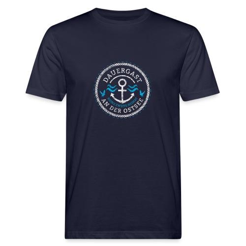 Ich bin Dauergast an der Ostsee - Männer Bio-T-Shirt