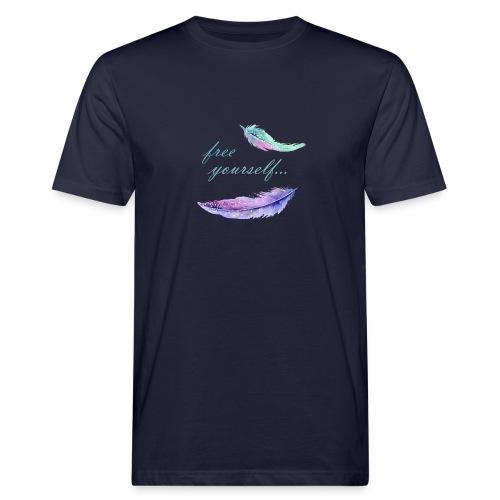 free yourself - Männer Bio-T-Shirt