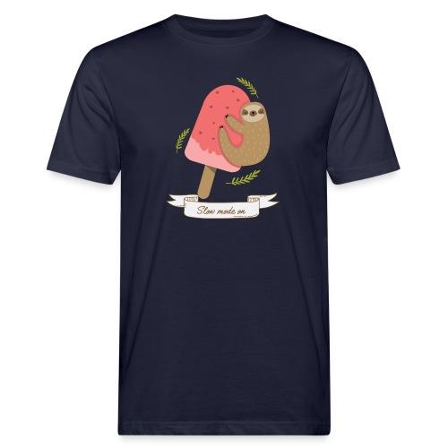 Paresseux Slow mode on - T-shirt bio Homme