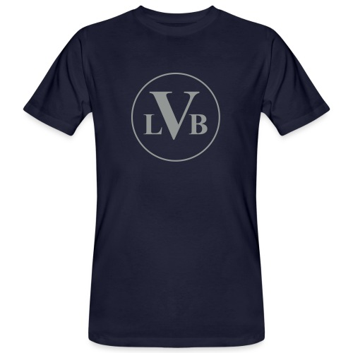 Beethoven Logo - Männer Bio-T-Shirt