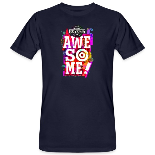 Different = Awesome - Men's Organic T-Shirt