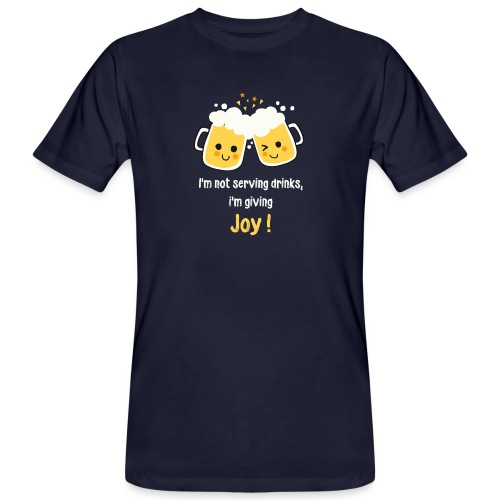 Giving Joy - Men's Organic T-Shirt
