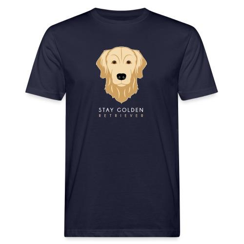 Golden Retriever - T-shirt ecologica da uomo