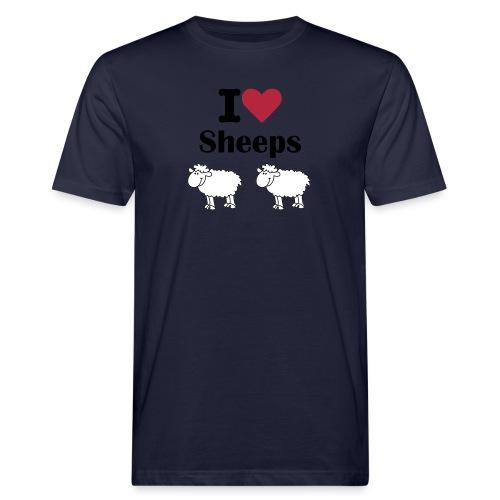 I-love-sheeps - T-shirt bio Homme