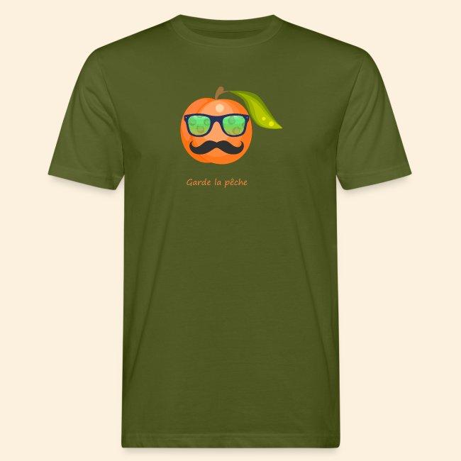 Lunette, moustache garde la pêche