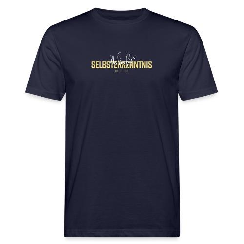 Selbsterkenntnis - Männer Bio-T-Shirt