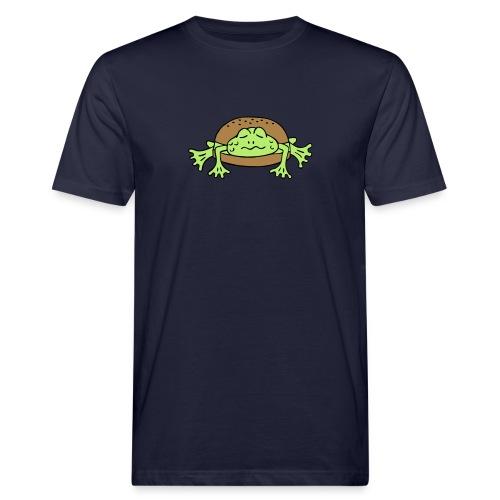 Froschburger French Burger Fastfood Frog ohne Käse - Männer Bio-T-Shirt