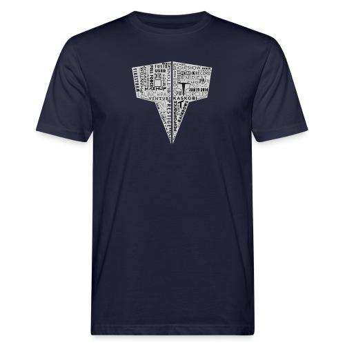 Word Logo // Kaskobi - Men's Organic T-Shirt