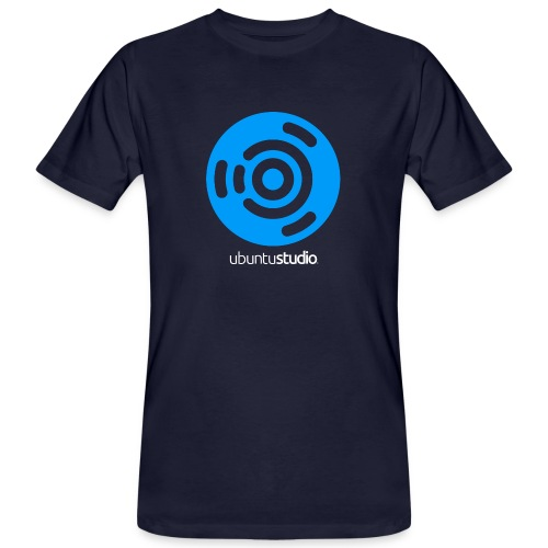 Logo bleu et blanc png - Men's Organic T-Shirt