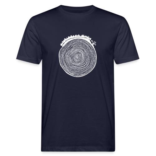Kattoo Weiß - Männer Bio-T-Shirt