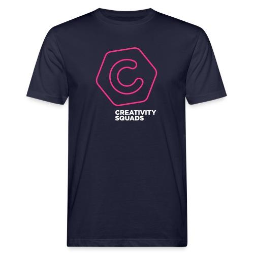 CreativitySquads 002 - Miesten luonnonmukainen t-paita