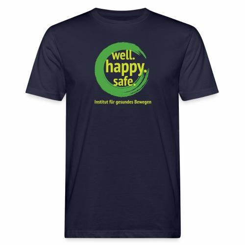 wellhappysafe - Männer Bio-T-Shirt