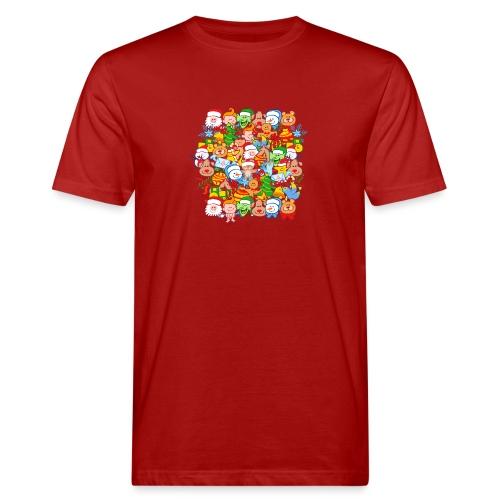 Tous sont prêts pour Noël, pour célébrer en grand! - Men's Organic T-Shirt