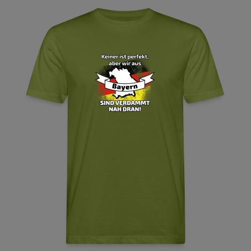 Perfekt Bayern - Männer Bio-T-Shirt