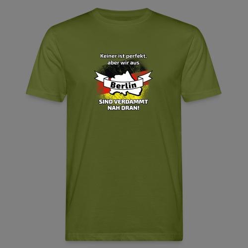 Perfekt Berlin - Männer Bio-T-Shirt