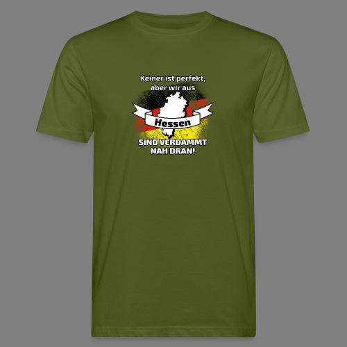 Perfekt Hessen - Männer Bio-T-Shirt