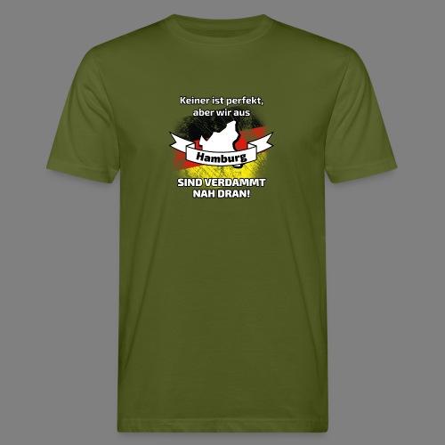 Perfekt Hamburg - Männer Bio-T-Shirt