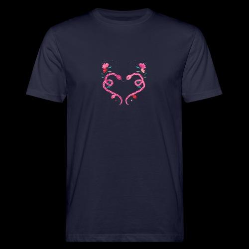 Coeur de serpents - T-shirt bio Homme