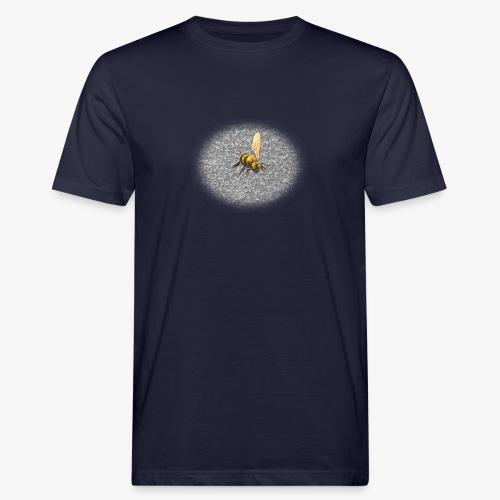 biene mit steienen - Männer Bio-T-Shirt