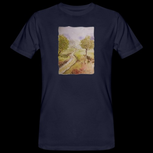 Waldweg - Männer Bio-T-Shirt