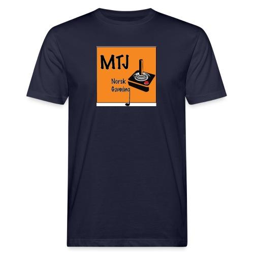 Mtj Logo - Økologisk T-skjorte for menn