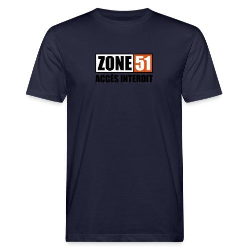 ZONE 51 - T-shirt bio Homme