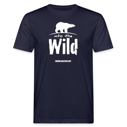 Into the wild (version light) - T-shirt bio Homme