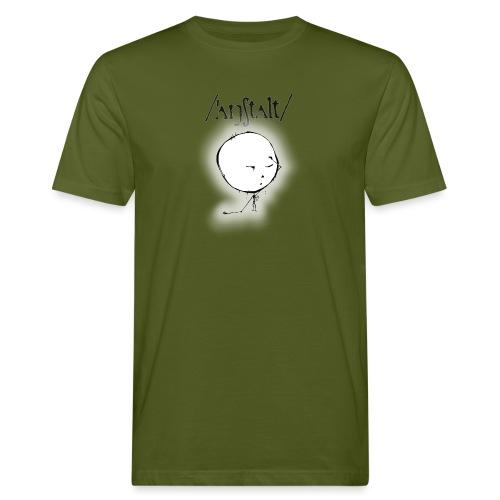 kreisling mit logo (schwarz) - Männer Bio-T-Shirt